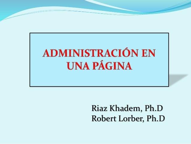 administracion en una pagina riaz khadem
