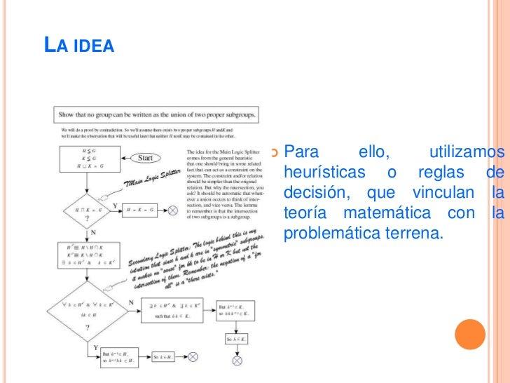 La idea<br />La Administración de la Producción nos ayuda a abordar problemas complejos en poco tiempo.<br />