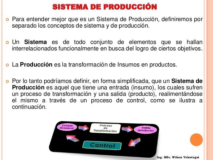 Son la fuerza de trabajo directa e indirecta.<br />Fábricas o ramas de servicio donde se realiza la producción.<br />Son l...