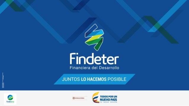 1. Qué es Findeter 2. De dónde provienen los recursos de Findeter 3. Administración de los recursos en Findeter a. Tasas c...