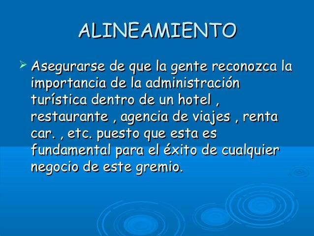 Administracion turistica Slide 2