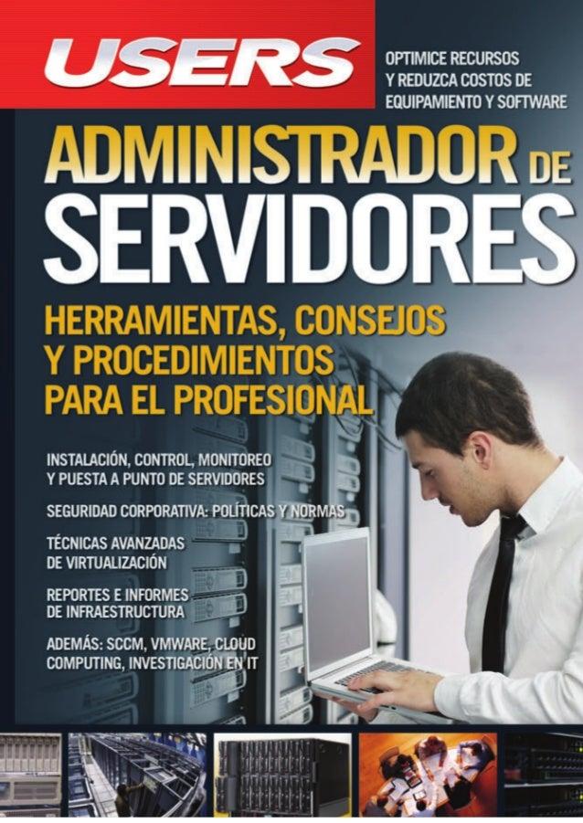 Resultado de imagen para administracion de servidores