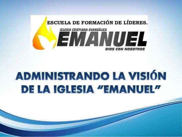 ESCUELA DE FORMACIÓN DE LÍDERES.