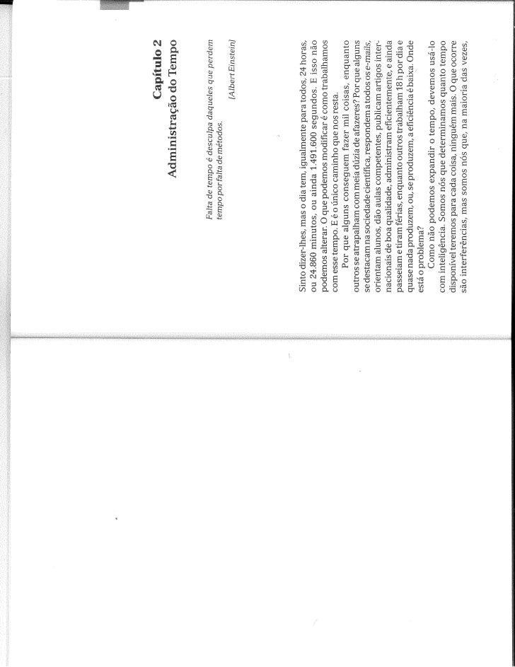 Administração da Vida Científica, cap. 2 by Gilson Volpato