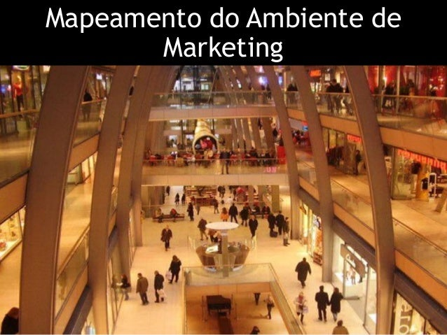Mapeamento do Ambiente de Marketing