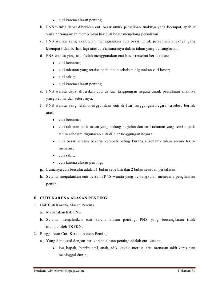 Contoh Surat Cuti Menikah Untuk Pns Backup Gambar