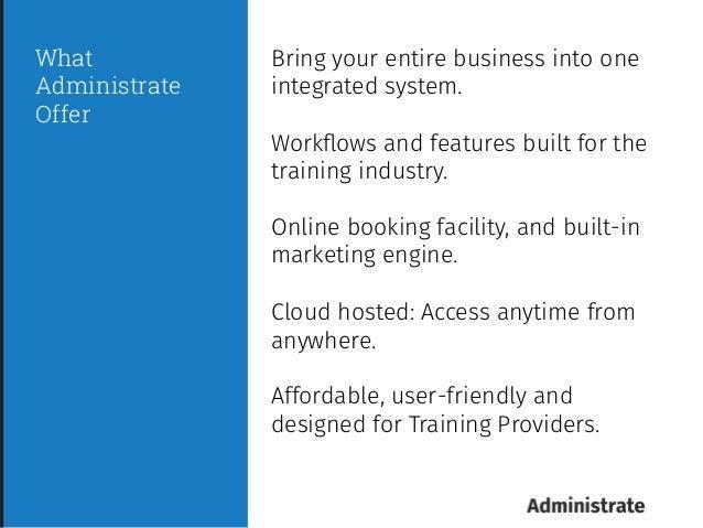 Training Administration Software Webinar