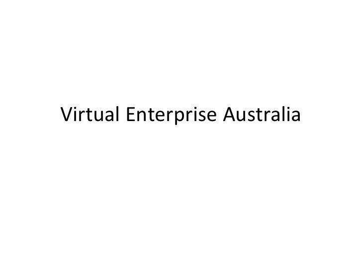 Virtual Enterprise Australia