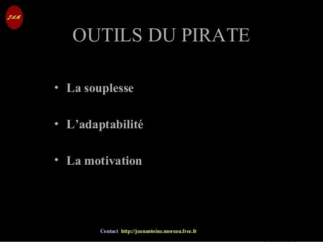 © Jean-Antoine Moreau copying and reproduction prohibited Contact http://jeanantoine.moreau.free.fr OUTILS DU PIRATEOUTILS...