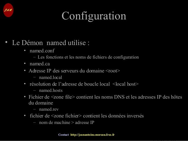 © Jean-Antoine Moreau copying and reproduction prohibited Contact http://jeanantoine.moreau.free.fr ConfigurationConfigura...