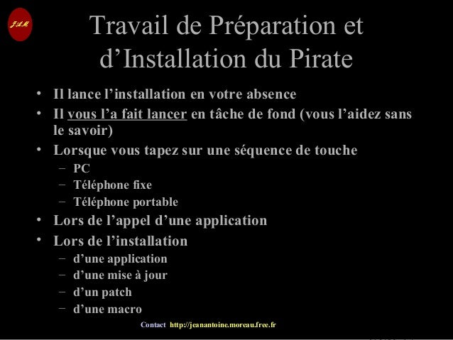 © Jean-Antoine Moreau copying and reproduction prohibited Contact http://jeanantoine.moreau.free.fr Travail de Préparation...
