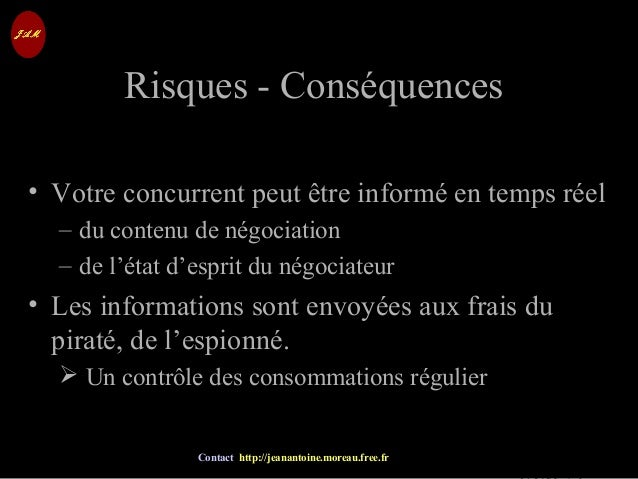 © Jean-Antoine Moreau copying and reproduction prohibited Contact http://jeanantoine.moreau.free.fr Risques - Conséquences...