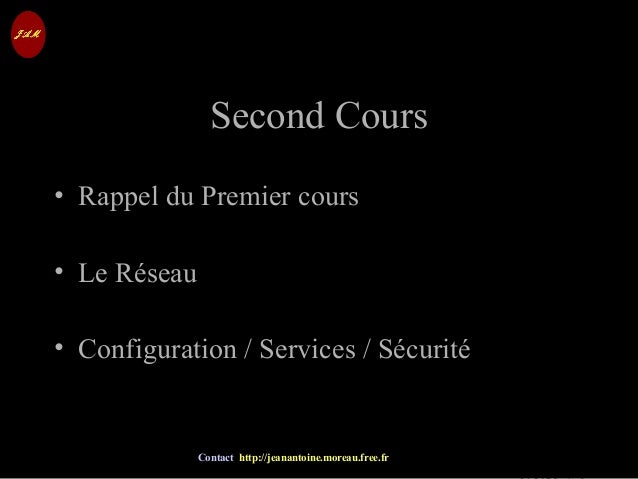 © Jean-Antoine Moreau copying and reproduction prohibited Contact http://jeanantoine.moreau.free.fr Second CoursSecond Cou...