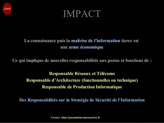 © Jean-Antoine Moreau copying and reproduction prohibited Contact http://jeanantoine.moreau.free.fr IMPACTIMPACT La connai...