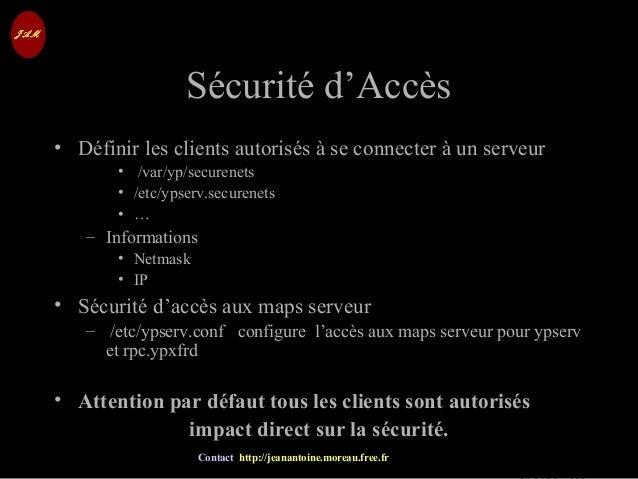 © Jean-Antoine Moreau copying and reproduction prohibited Contact http://jeanantoine.moreau.free.fr Sécurité d'AccèsSécuri...