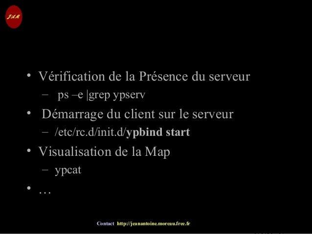 © Jean-Antoine Moreau copying and reproduction prohibited Contact http://jeanantoine.moreau.free.fr Test du Service • Véri...