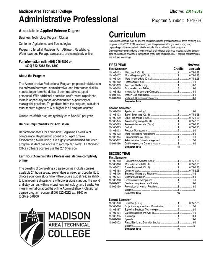 Madison Area Technical College                                                                                            ...