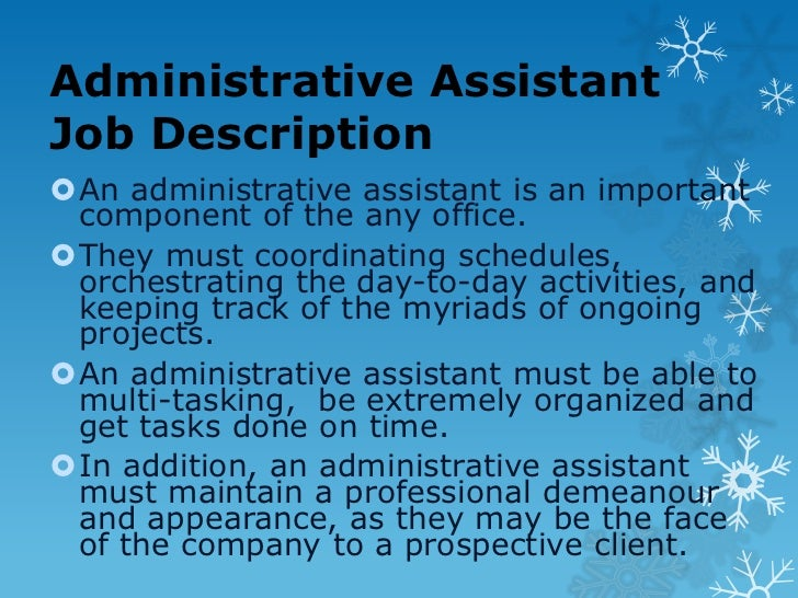 Tips for administrative assistants