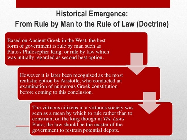 what is the rule of law