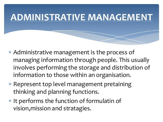 administrative theory The issue about the ability of public servants to serve the best interest of the public through a solid public governance and administration system has always been an important point in related debates and discussions.