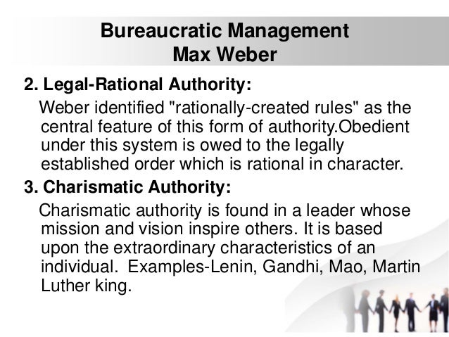 Rational-legal authority
