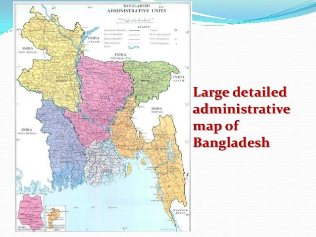 Administrative structure of bangladesh