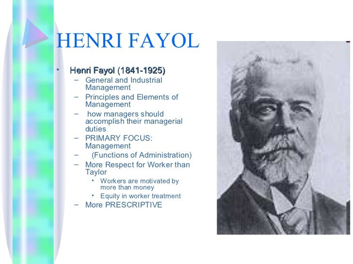 Fayol taylor gulick management theories