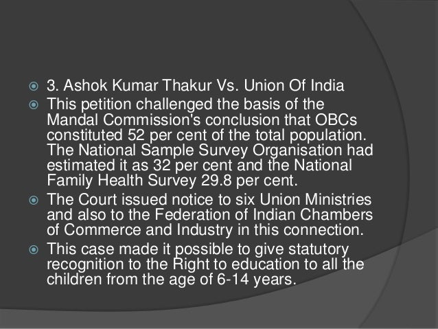 ashok kumar thakur vs union of india pdf