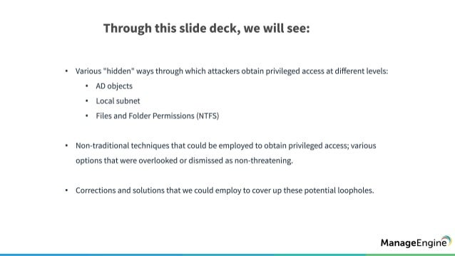 There's more than one way to get admin privileges Slide 3