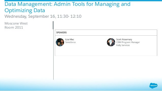 Up your Data Game with these Admin Track Sessions Slide 3