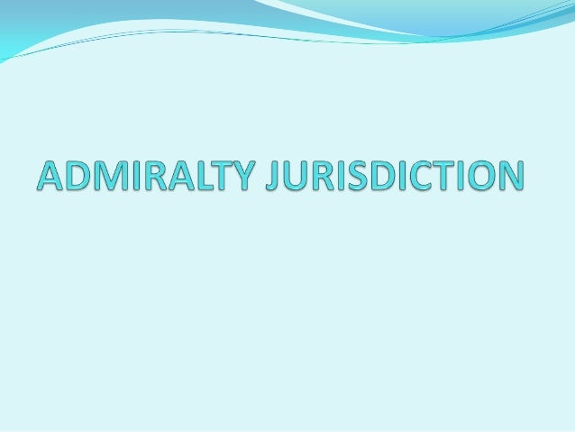 MEANING  'Admiralty' and 'Maritime' are almost synonyms.  Maritime law is wider.  There is no statutory definition.  I...