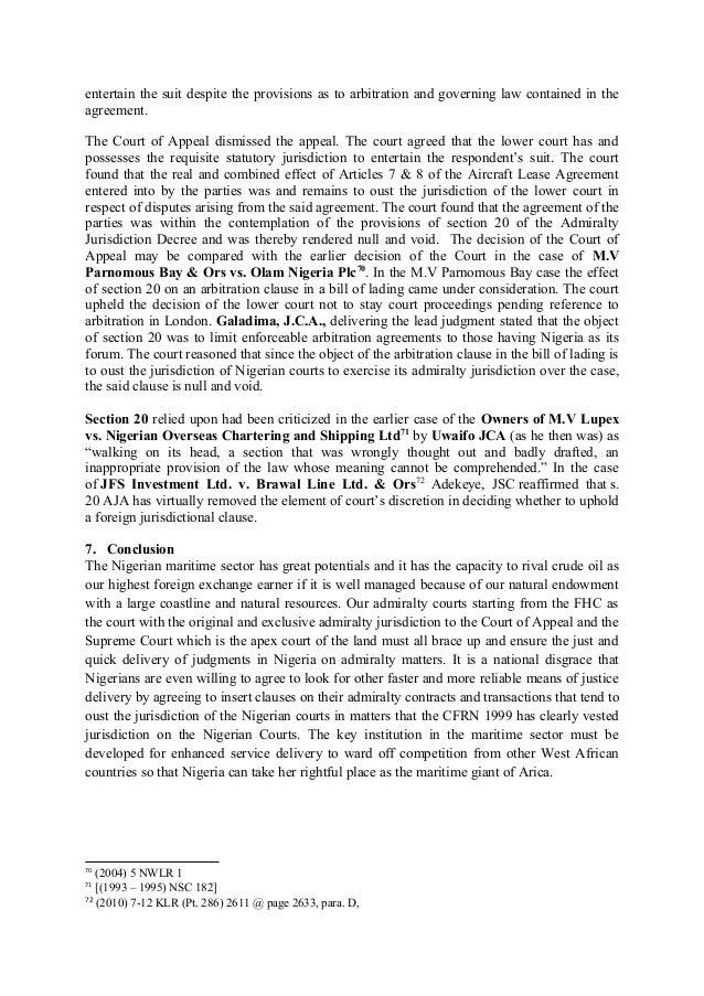 Admiralty Jurisdiction Procedure Rules 2011 Pdf