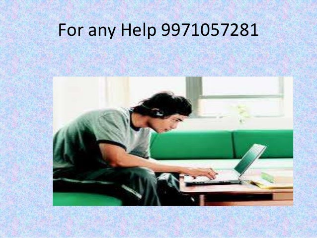 For any Help 9971057281