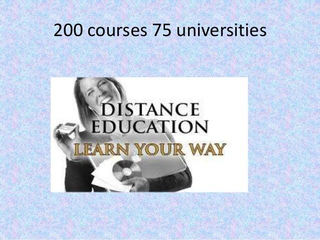 200 courses 75 universities