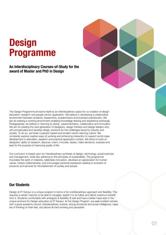 Admission brochure for_design _program