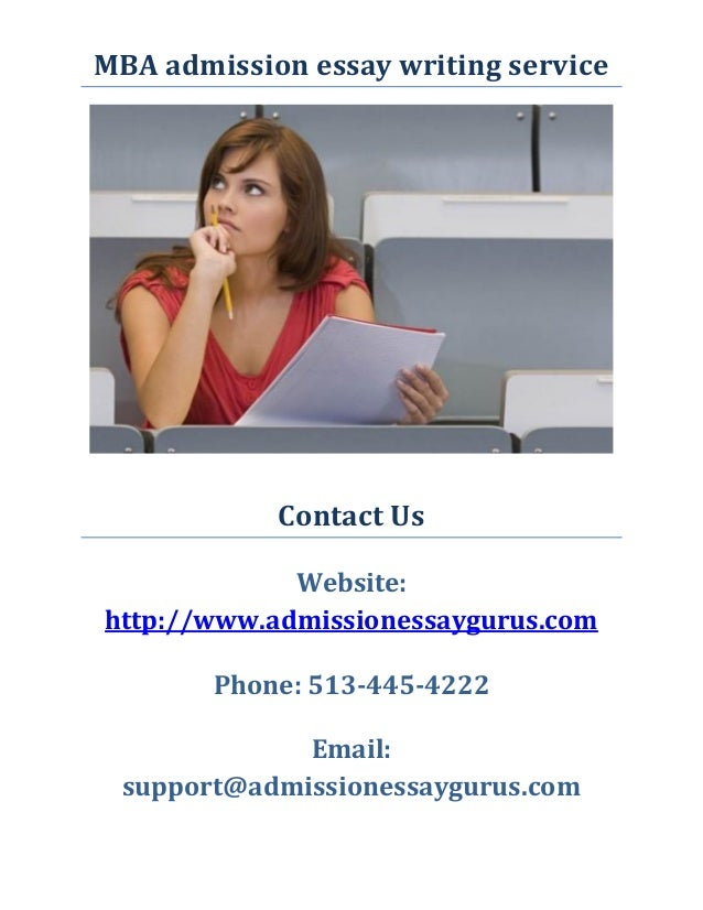 MBA admission essay writing service  Contact Us  Website: http://www.admissionessaygurus.com  Phone: 513-445-4222  Email: ...