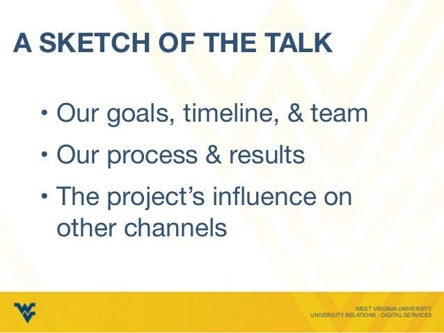Case Study: Rebuilding an Admissions Web Presence Slide 3