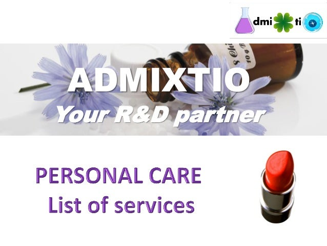Admixtio personal care services