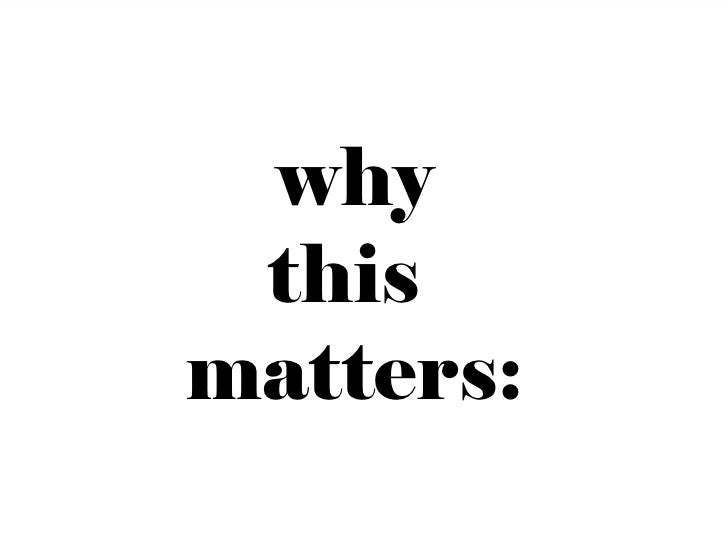 why thismatters:           11