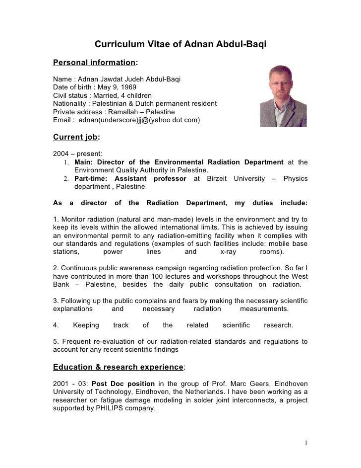 CV - Adnan