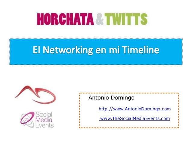 Antonio Domingohttp://www.AntonioDomingo.comwww.TheSocialMediaEvents.com