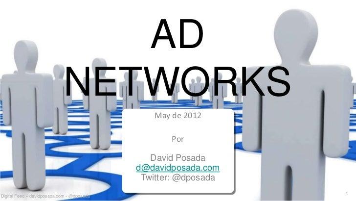 AD                            NETWORKS                                               May de 2012                          ...