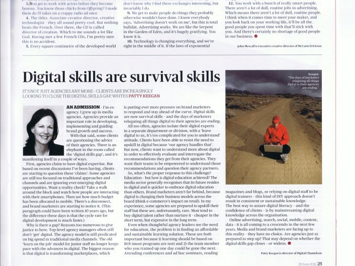 AdNews Digital Skills Are Survival Skills