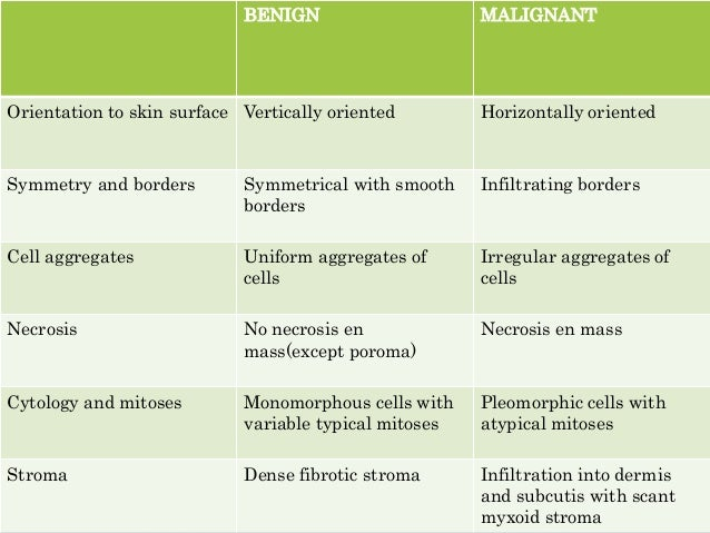 CLINICAL PRESENTATION • Skin appendage neoplasms present as papules (''bumps'') on the skin that are difficult to distingu...