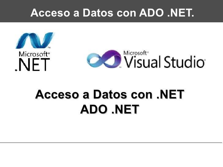 ADO Database Connection - W3Schools