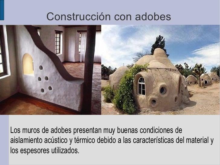 Construcción con adobes