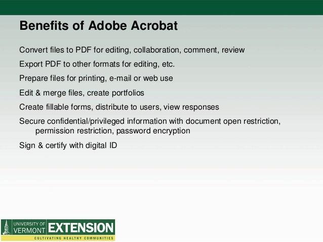 Adobe Acrobat Pro X 2014 Uvm Extension Professional