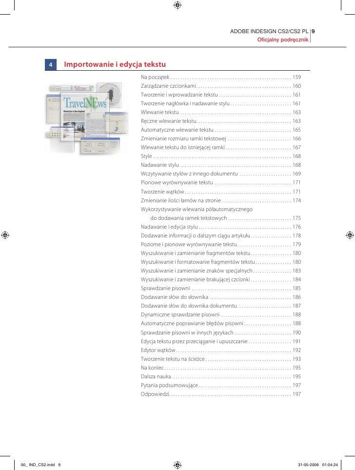 Adobe InDesign CS2/CS2 PL. Oficjalny podręcznik