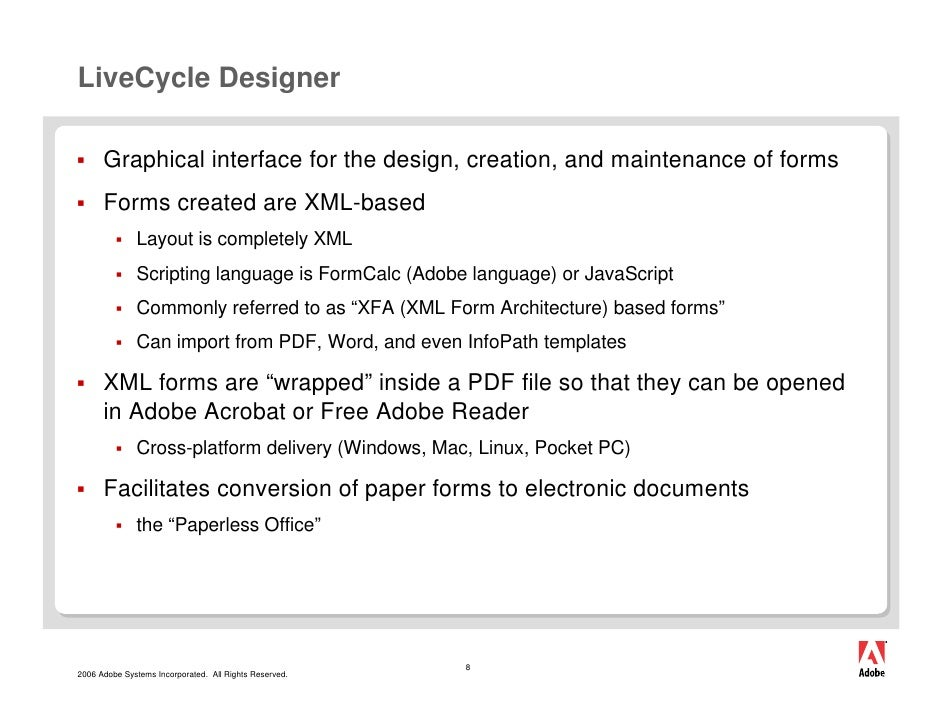 Adobe livecycle for mac