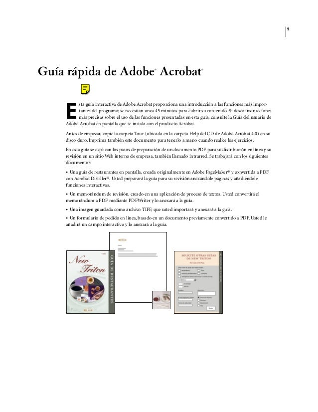 adobe acrobat reader espa ol manual rh slideshare net manual adobe acrobat xi pro manual adobe acrobat xi pro